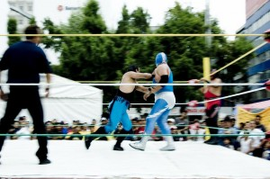 Luchadors by Revelateur Studio is licensed under CC by 2.0.
